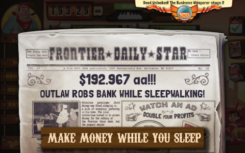 Wild West Idle Tycoon Tap Incremental Clicker Game (Unreleased)