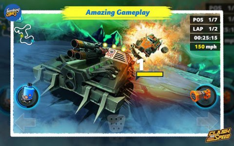 Clash for Speed – Xtreme Combat Racing (Unreleased)